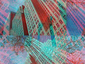 building, Manhattan, colors